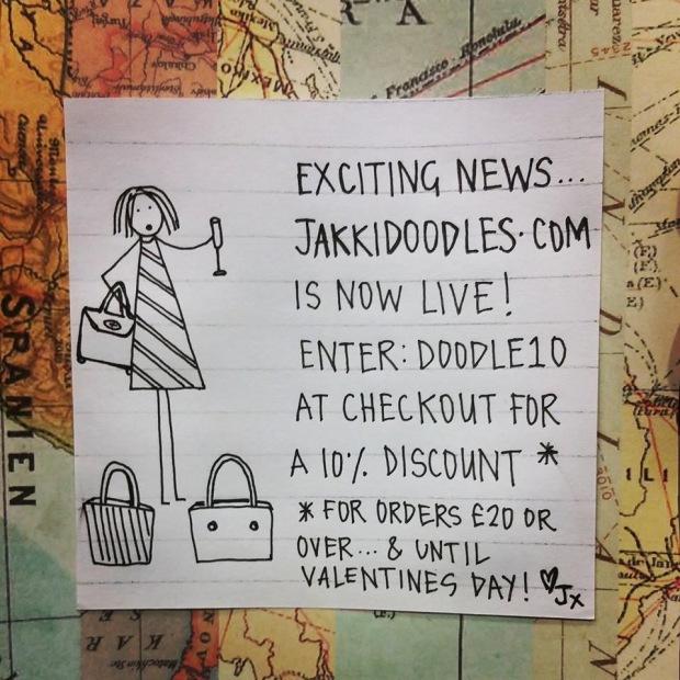 Image courtesy of Jakki Doodles
